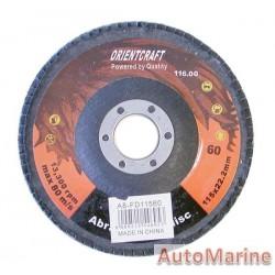 Flap Disc 115mm 60 Grit