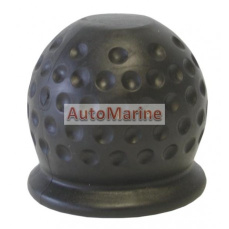 Rubber Tow Hitch Ball Cover (50mm) Black