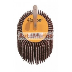 Flap Wheel with Shaft 60 Grit 75mm x 25mm x 6mm
