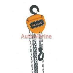 Chain Block Hoist - 1 Ton - 3m Chain