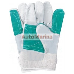 Winch Operator Leather Gloves - Pair
