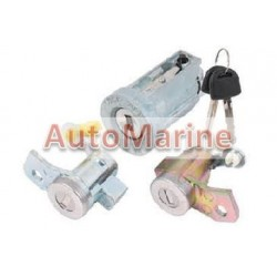 Isuzu DMAX 2003 Onward Ignition Barrel and Door Lock Set