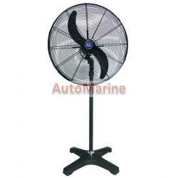 Tradequip 200W Electric Pedestal Fan
