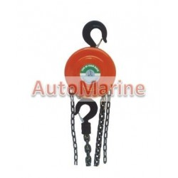 Chain Block Hoist - 1 Ton - 2.5m Lift
