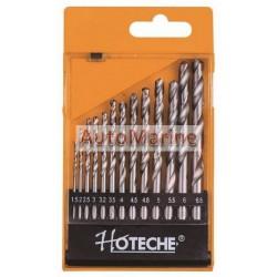 Hoteche 13 Piece HSS Twist Drill Bit Set
