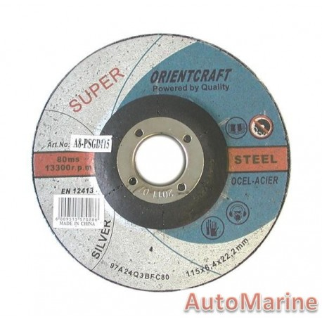 Professional Steel Grinding Disc 115X6X22