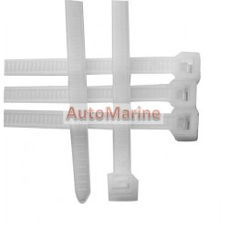 Cable Ties - 104mm x 2.5mm - 100 Pieces - White