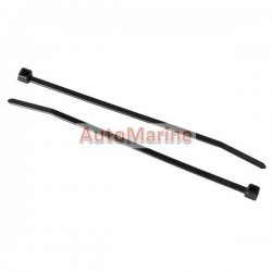 Cable Ties - 198mm x 4.7mm - 100 Pieces - Black