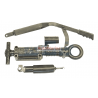 Trailer Eye Coupler with Shock and Brake Lever