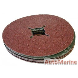 Sanding Disc 115mm Grit 24 5Pcs