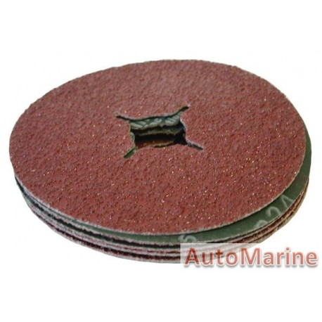 Sanding Disc 115mm Grit 24 5Pcs