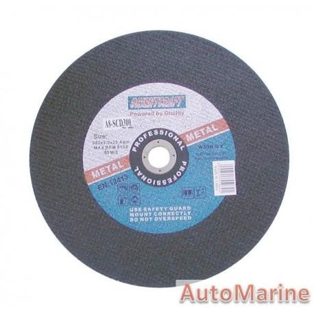 Steel Cutting Disc 300X3X25.4mm DIY
