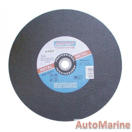 Steel Cutting Disc 355X3X25.4mm DIY