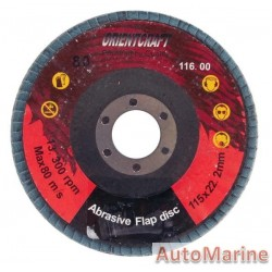 Flap Disc 115mm 60 Grit Stainless Steel