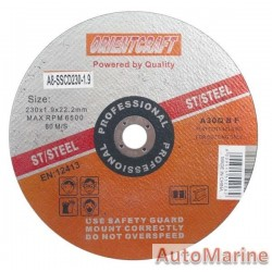 Stainless Steel Cutting Disc 230*1.9*22.