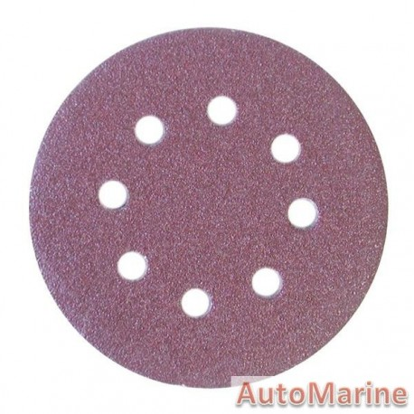 Velcro Sanding Disc with Hole 125mm Grit 40(5)