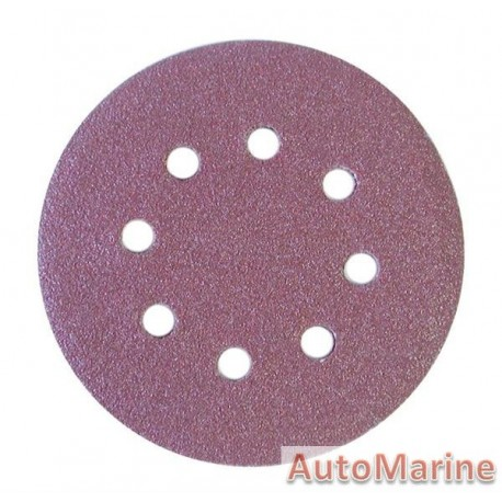 Velcro Sanding Disc with Hole 125mm Grit 60(5)