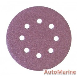 Velcro Sanding Disc with Hole 125mm Grit 80(5)
