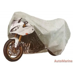 Heavy Duty Motorcycle Cover - Large