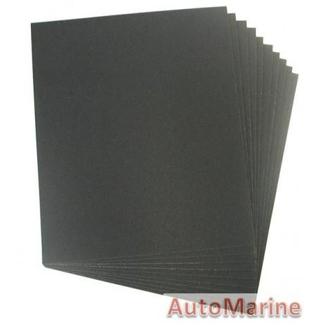 Water Paper  Grit 100(10)230X280mm Sheet