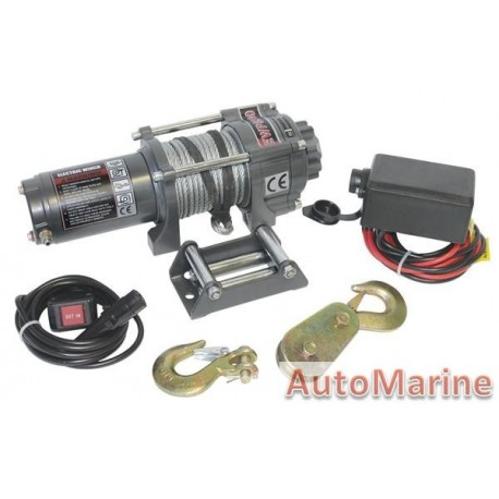 Runva Electric Winch - 12 Volt - 3500lb (1588kg) - With Solenoid Pack